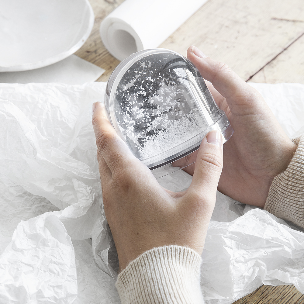 Snöglob från Granit julen 2019
