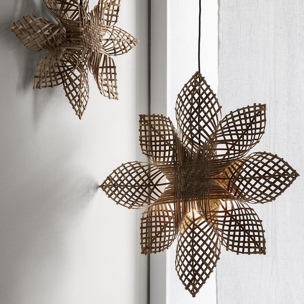 Julstjärnor med hantverkskänsla från Granit