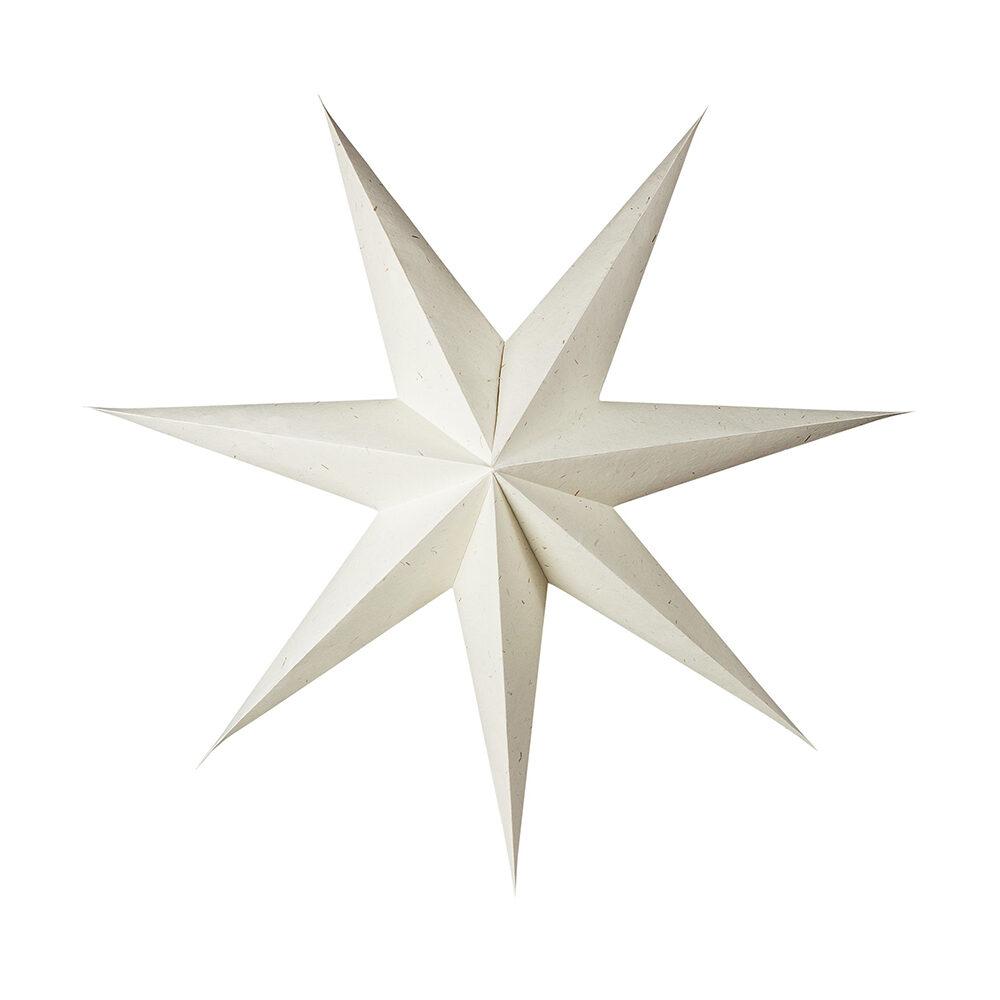 Klassisk vit adventsstjärna från Granit