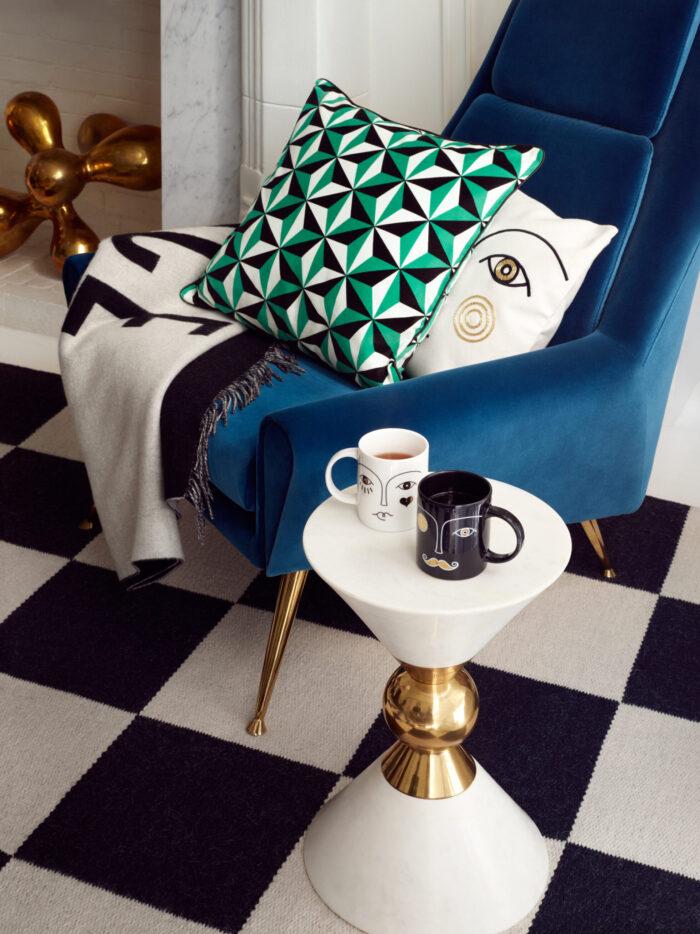 Detaljer ur Jonathan Adler x H&M Home
