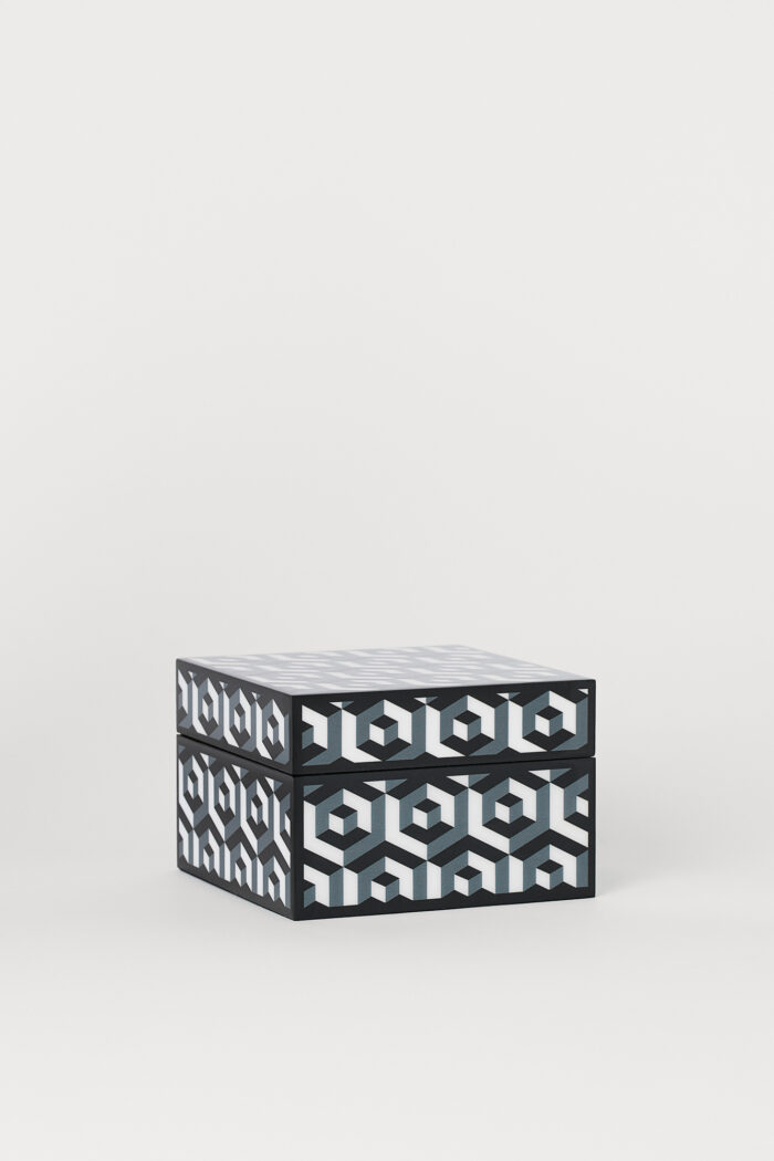 Svartgrå förvaringsask från Jonathan Adler x H&M