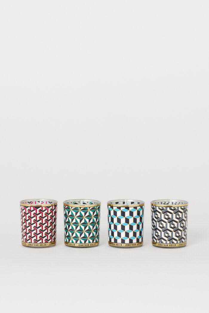 Förvaringsburkar med grafiska mönster från Jonathan Adler x H&M