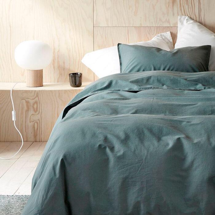 Fina sängkläder i vårens trendigaste färger