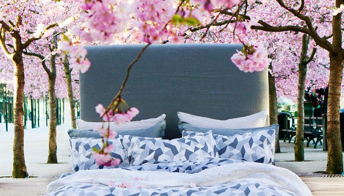 Himlas nya bäddkollektion är inspirerad av Japan