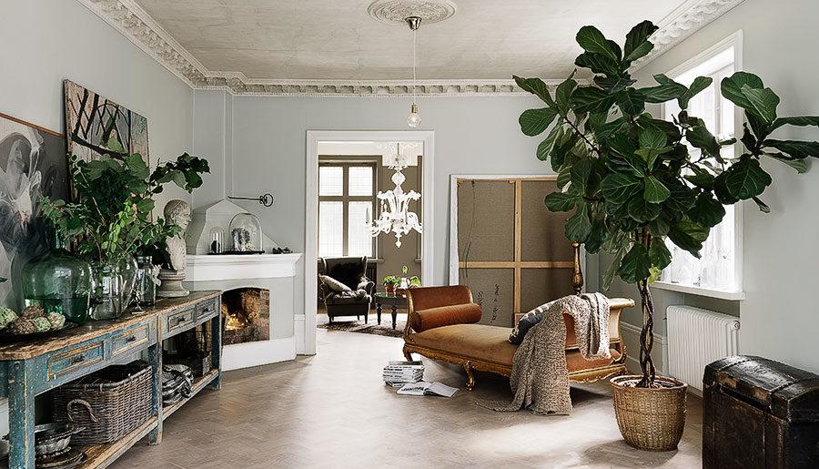 Kika in i vår bloggare Malin Perssons magnifika hem!