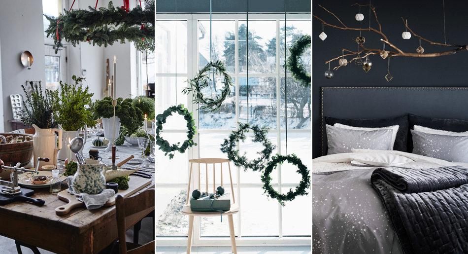 9 vackra rum som får dig i julstämning direkt