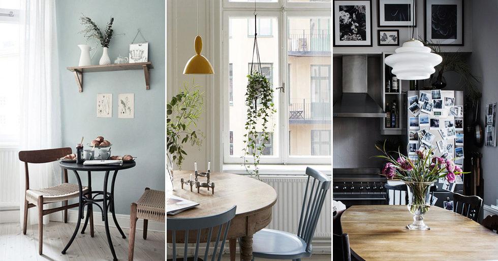 Så inreder du ett compact living-kök –11 smarta tips