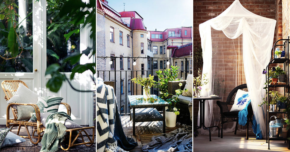 11 fina tips som gör balkongen mysigare
