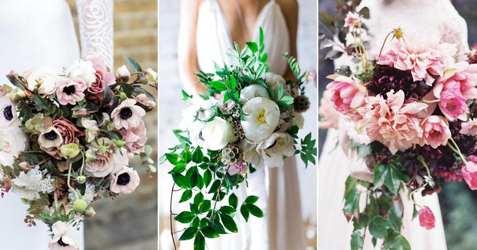 13 vackra brudbuketter för vår- och sommarbröllopet