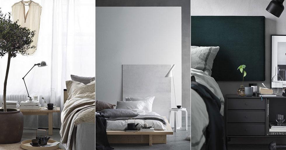 3 vilsamma sovrum i 3 olika stilar – så skapar du dem!