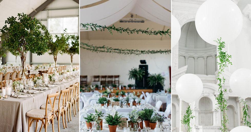 8 grönskande dekorationer till både fest och bröllop