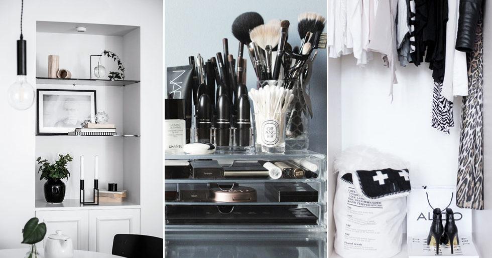 Så organiserar du ditt hem – utan att tappa stilen