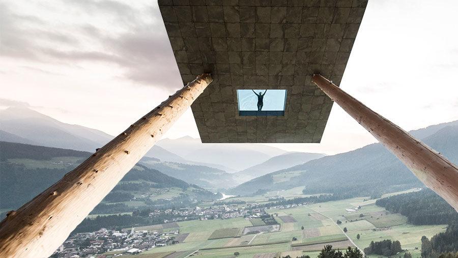 Infinitypoolen i italienska alperna ger ordet magisk en helt ny mening
