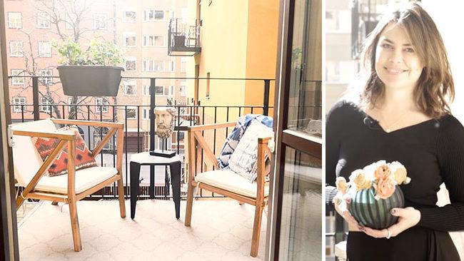 Så skapar du en somrig balkong – Amelia Widells 5 bästa tips