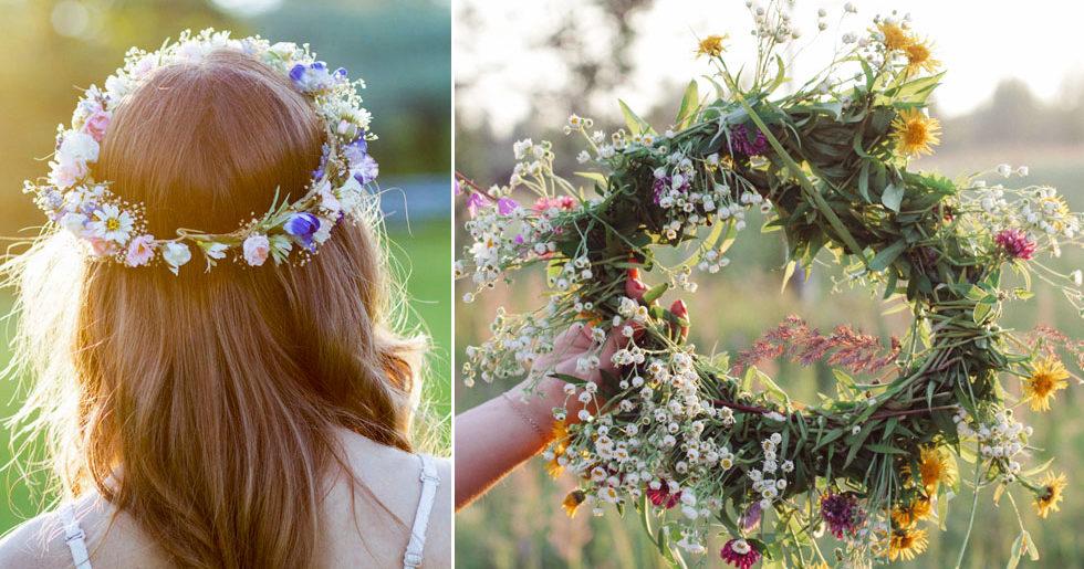 Välj blommor till midsommarkransen – baserat på ditt stjärntecken