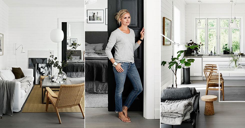 Mjuk minimalism i stylisten Pella Hedebys snygga hem