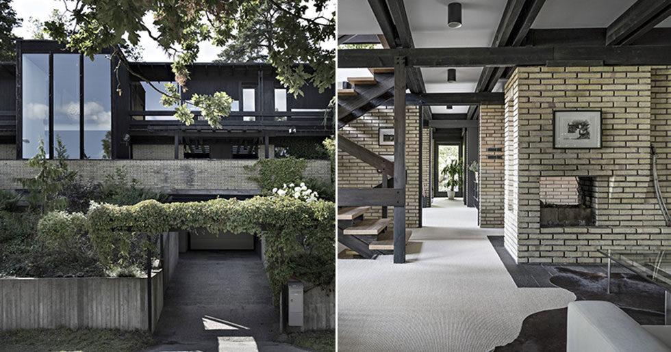 Stilren arkitektritad villa från 60-talet till salu – kika in