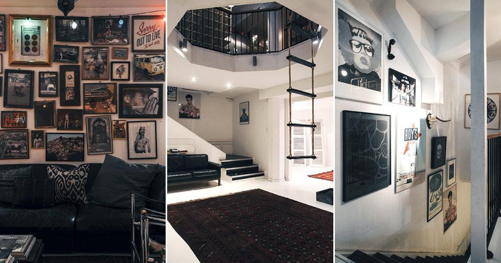 Kyrkolokal blev unik bostad i city – med egen skateboardramp i källaren