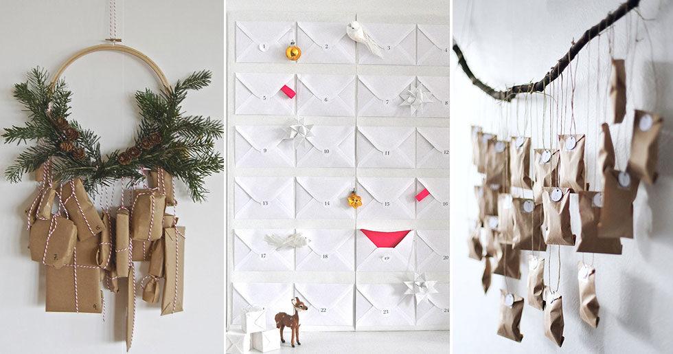 DIY: 12 snygga adventskalendrar inför julen – som du kan göra själv