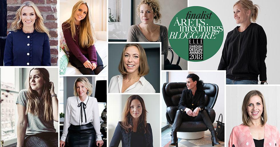 Vem blir Årets inredningsbloggare 2018?