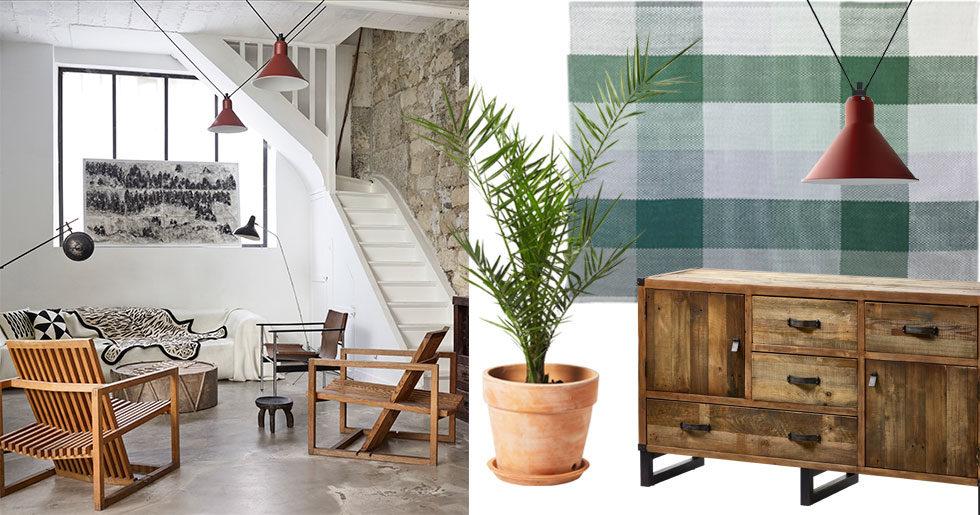 Ge ditt hem ett lyft – med moderna detaljer, mörka träslag och mönster