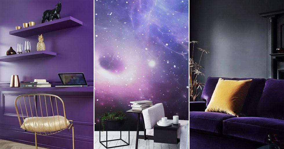 Årets färg är ultraviolet – 3 tips för trendkulören