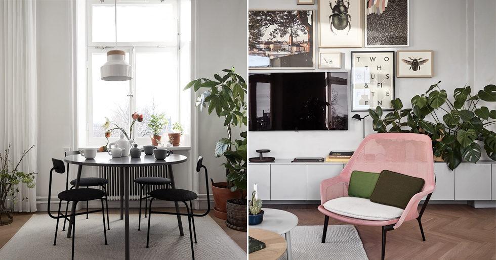Formgivaren säljer sin lägenhet på söder - och det är en riktig inredningsdröm