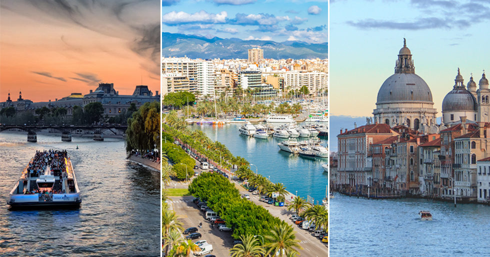 9 soliga weekendresmål i Europa i vår