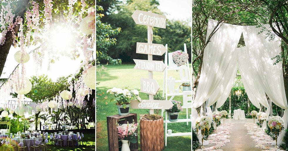Detaljerna som sätter guldkant på sommarbröllopet