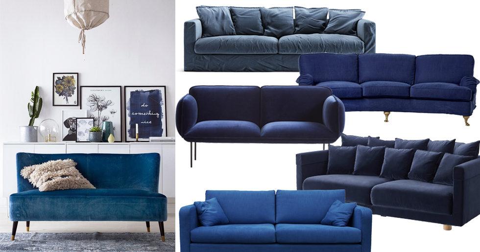 Fräscha Shoppa den trendiga blå soffan – tips | ELLE Decoration LJ-04