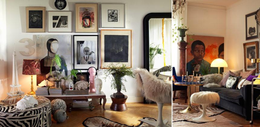 Magiskt hem med enastående estetik och fina detaljer