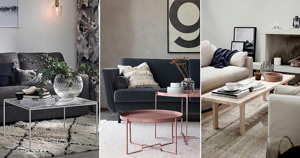 Attraktiva Guide: Så väljer du rätt soffbord   ELLE Decoration TO-87