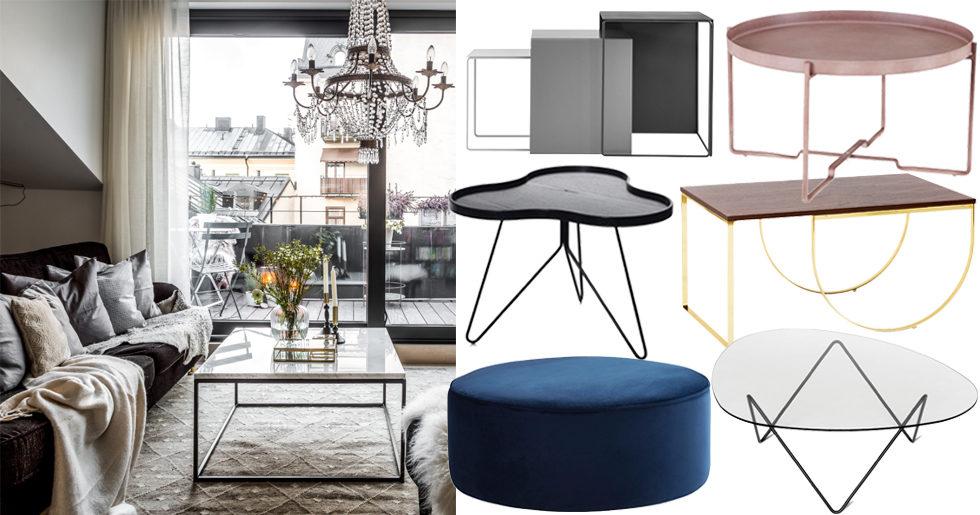 Guide: Hitta soffbordet som passar dig – 7 olika stilar