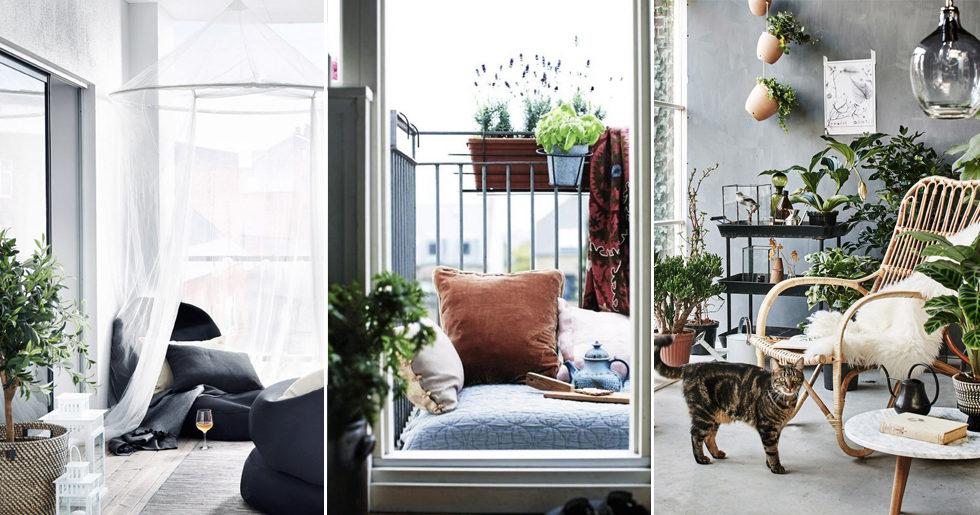 17 fina inredningstips till balkongen