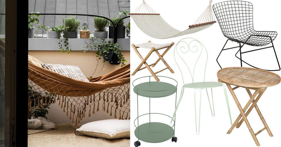 Shopping: 14 snygga budgetmöbler för balkongen