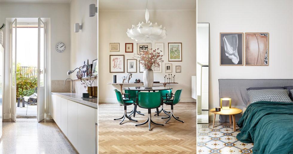 Unik lägenhet med antika vibbar och tidlös design