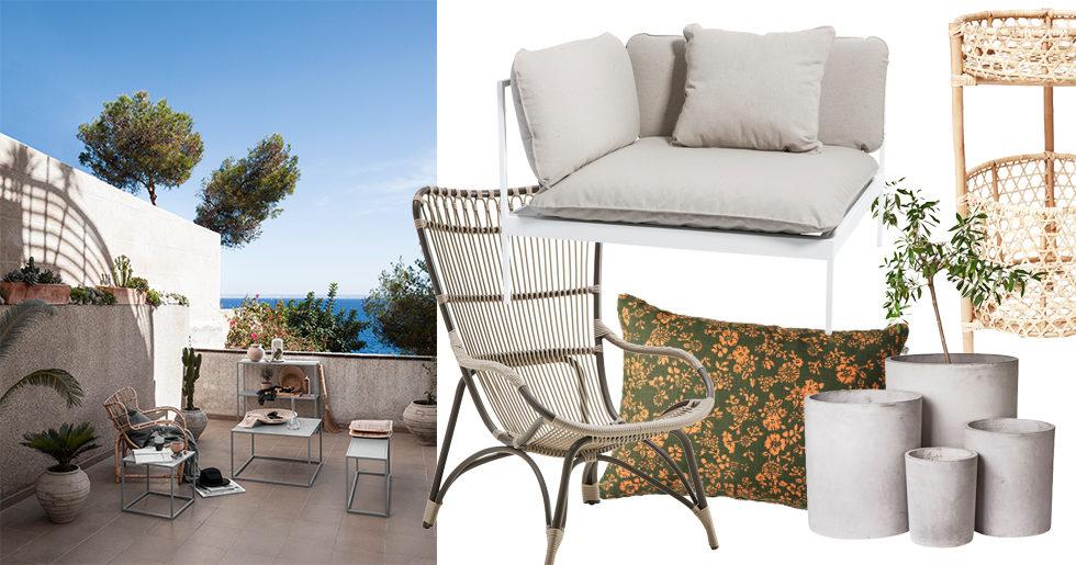 Underbar Sommarens snyggaste utemöbler och detaljer | ELLE Decoration CM-84