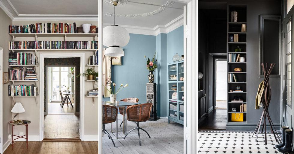 11 inspirerande hem med trendigt inmålade möbler