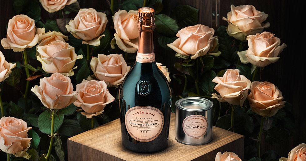 Laurent-Perrier lanserar champagnerosa målarfärg