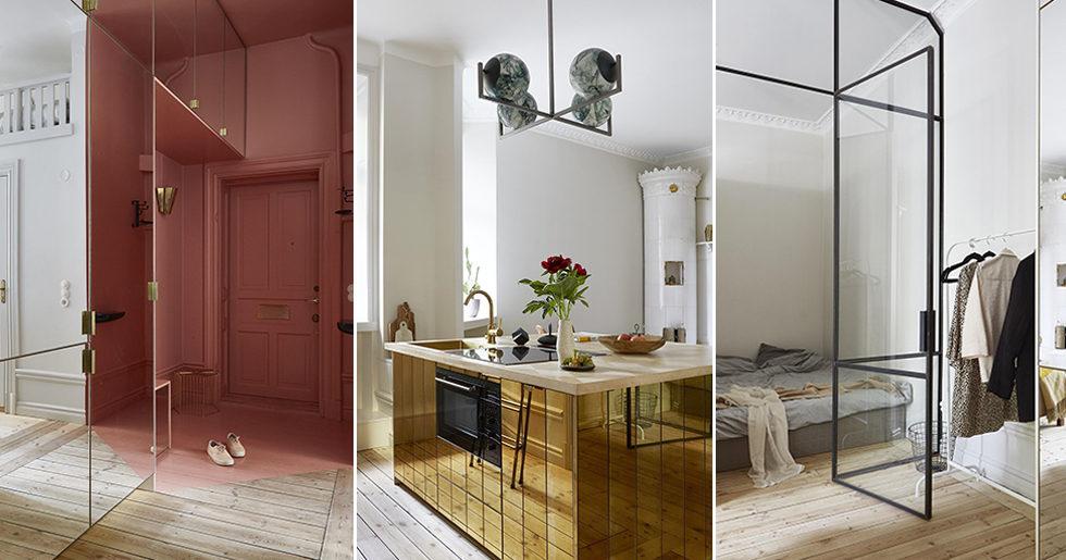 Stilsäker sekelskiftesdröm – med 11 snygga compact living-detaljer