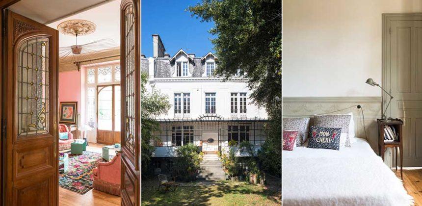 Vackert franskt hem med pasteller och retrocharm