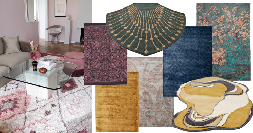 Nykomna Shopping: 17 trendiga mattor till vardagsrummet | ELLE Decoration SU-37