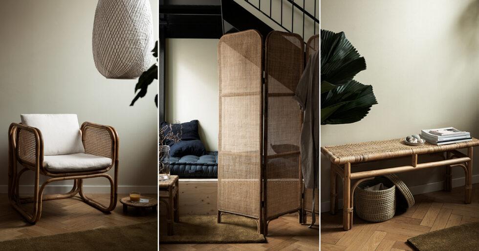 Attraktiva Granit lanserar sin första rottingkollektion | ELLE Decoration CQ-18