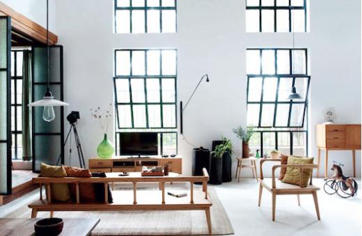 asiatiskt hem, hemtrevlig minimalism