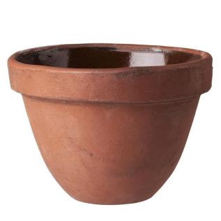 kruka, skål, terracotta, granit
