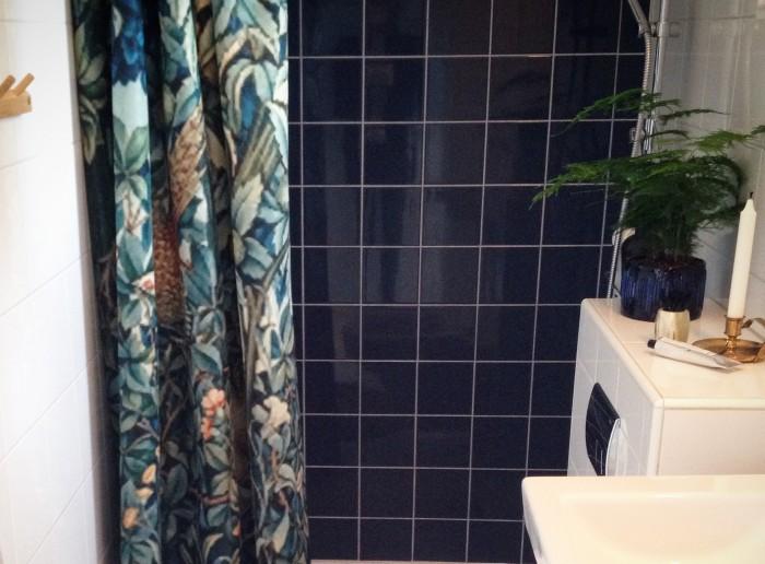 Willammorris Greenery Showercurtain 2