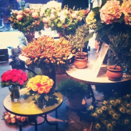 stockholms auktionsverket blommor arrangemang vip visning