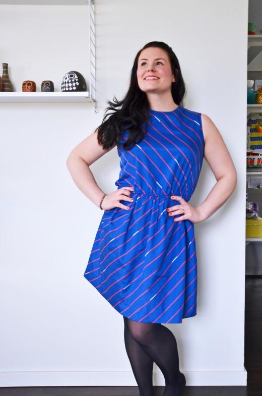 blåklänning finfredag