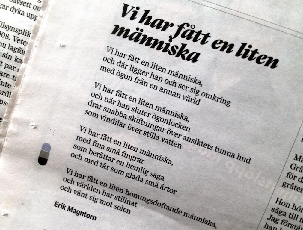 grattis till bebisen dikt Olles dikt | By Ida Magntorn grattis till bebisen dikt