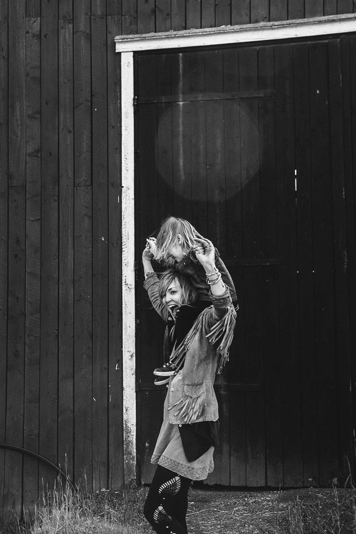 Anna och Sonny Lou © Anna  Malmberg